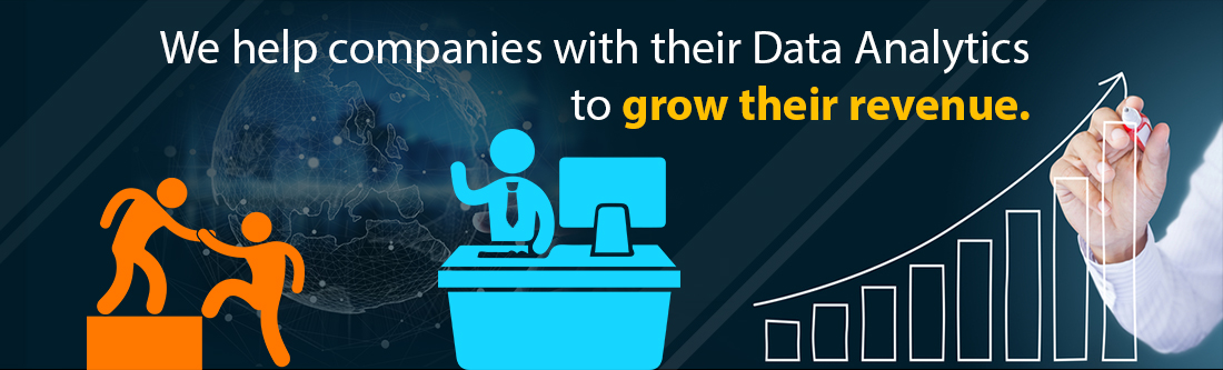 We help companies with their Data Analytics